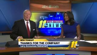 ABC11 anchor Larry Stogner announces he has ALS, retirement