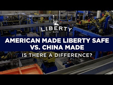 American Made Liberty Safe vs China Made - Is There a Difference?