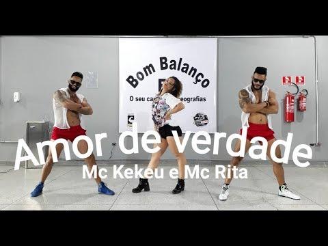Amor de verdade - Mc Kekel e Mc Rita | Coreografia Bom Balanço Fit