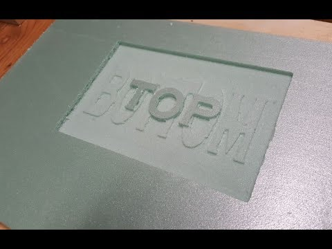 DIY CNC - Text on Text/Stacked Text - With Open Source Software