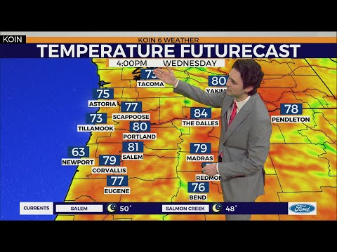 Weather Forecast: Summer Temperatures For The Next 3 Days In Portland