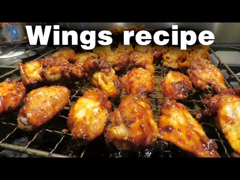 oven-baked-chicken-wings-2-ways-(bbq-&-buffalo)