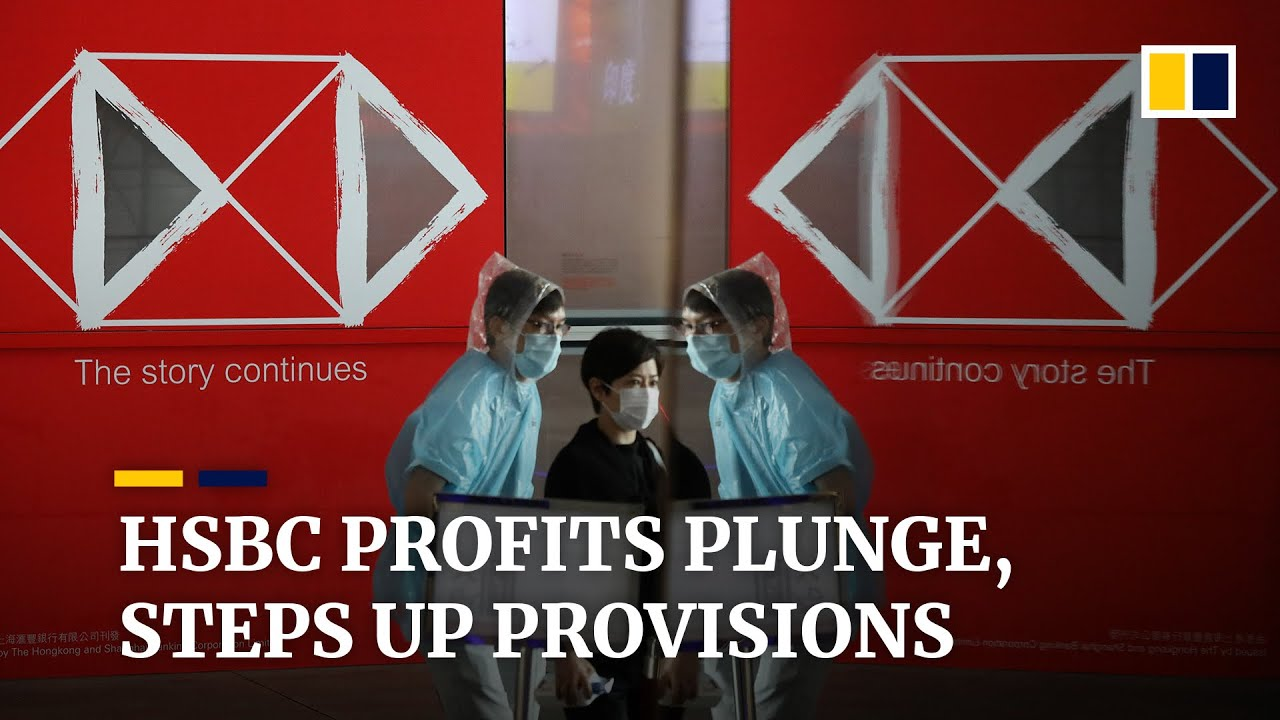 HSBC sees second-quarter profits plunge by 82 per cent thanks to coronavirus