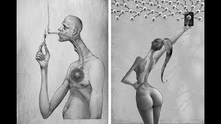 DRAWINGS ARE AN INCREDIBLE REFLECTION OF WHAT'S WRONG WITH SOCIETY