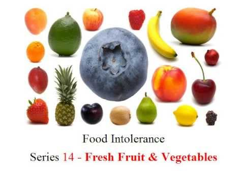 Fruit And Vegetable Allergy Intolerance Food Intolerance Series