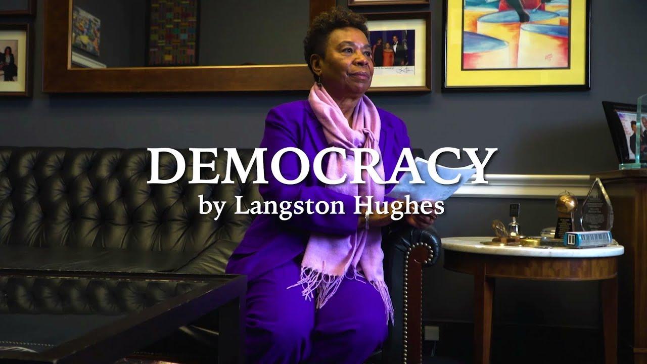 democracy poem by langston hughes