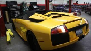 AA Fab & Autoworks work on Lamborghini Murcielago