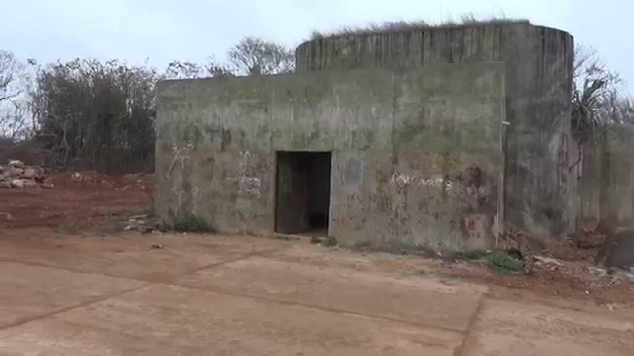 金門撤軍後洋山海邊僅存的防禦碉堡2014 03 08. - YouTube