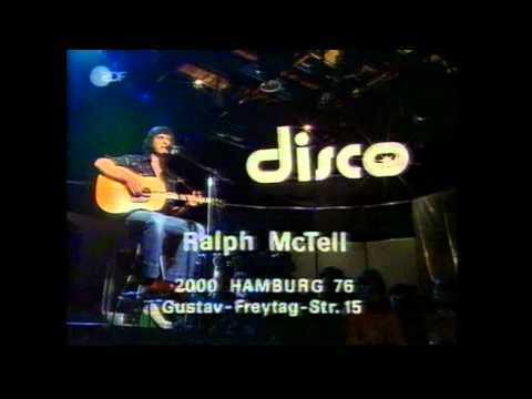 RALPH MC TELL   STREETS OF LONDON live @ zdf disco 1975