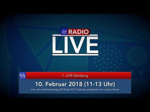 1  LIVE Sendung   10  Februar 2018 11 13 Uhr   Informationstag 2018   präsentiert von Joscha Krone