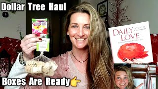 Dollar Tree Haul | All NEW Items| Boxes Are Ready 🙂/ Dec 7th