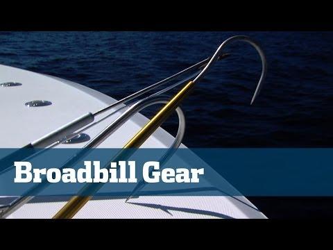 Swordfish Gear Gaffs Harpoons Tailropes - Florida Sport Fishing TV