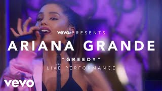 Ariana Grande - Greedy (Vevo Presents) Music never stops. Get the V...