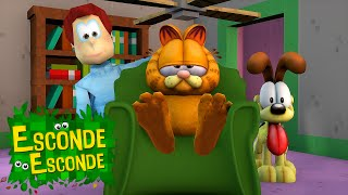 Minecraft: GARFIELD - O FILME! (Esconde-Esconde)