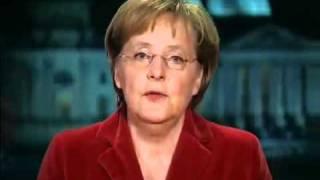 Новогоднее обращение канцлера Германии А.Меркель