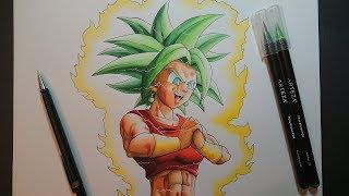 Drawing Kefla | Dragon Ball Super Art - Arteza Brush Pen Review