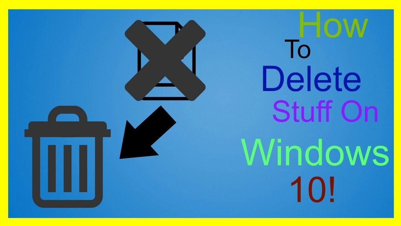 how to delete files on windows 10 permanently