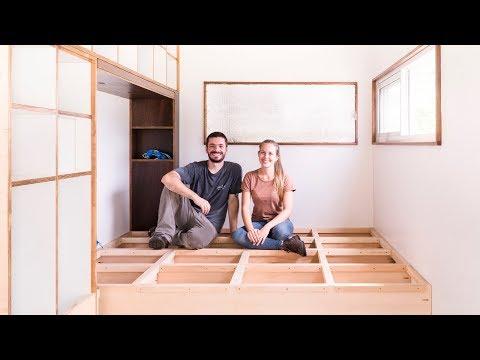 Our loving nest is gaining shape 😍 [DIY Platform Bed with Storage] LTP #065