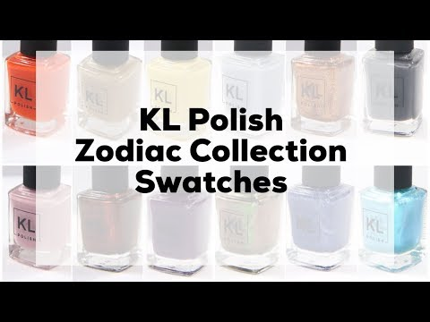 KLPolish Zodiac Collection Swatches and Comparisons