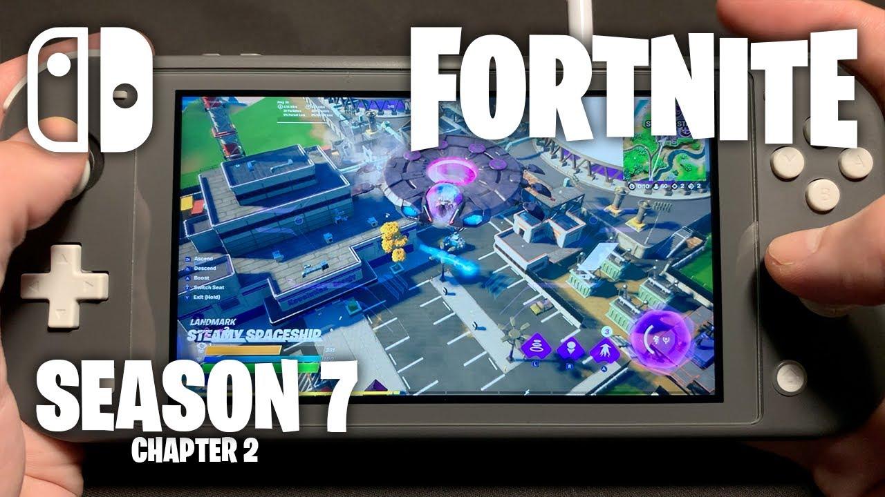 CHAPTER 2 SEASON 7 - Fortnite on Nintendo Switch Lite #372