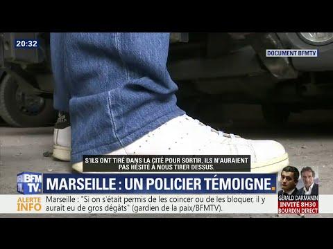 """Commando à Marseille: """"J'ai vraiment eu peur"""", témoigne un policier"""