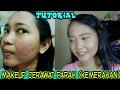 Tutorial Makeup Jerawat Parah (kemerahan) ft.wardah & inez | Vina Maysha | Acne Skin Coverage