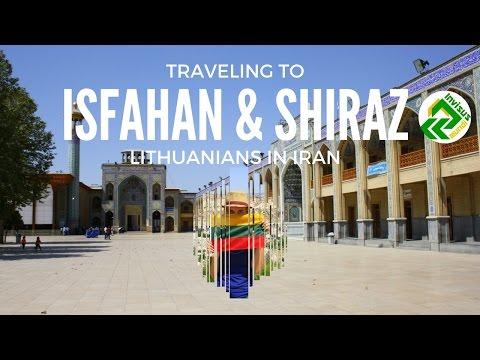 Traveling to Isfahan (Esfahan) and Shiraz. Beautiful cities of Iran
