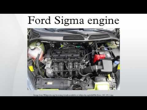 Ford Sigma Engine Youtube