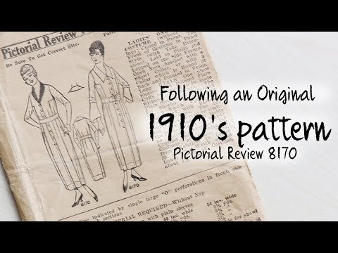 1910 Dress : Sewing through the Decades