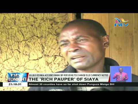 Man with half a million of Sh1,000 old notes