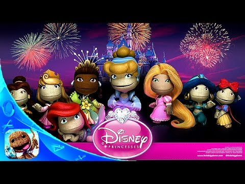Disney Princess Fairy Tale Land - LittleBigPlanet 3 LBP3 PS4