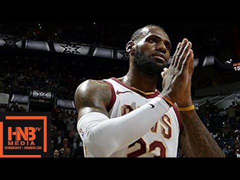 Cleveland Cavaliers vs San Antonio Spurs Full Game Highlights / Jan 23 / 2017-18 NBA Season