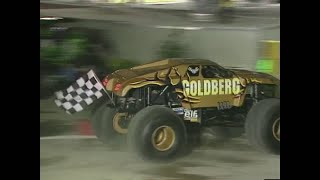 Goldberg vs Predator Monster Jam World Finals Racing Quarter Finals 2000