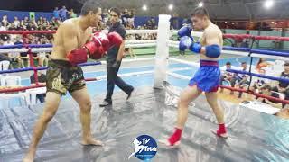 TV THAI | Brian Conejeros ( Dojo Tono ) vs Paulo ( Master Kombat ) War Champions Muay Thai