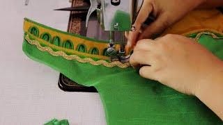 Trendy Fashion Blouse For Slik SAree