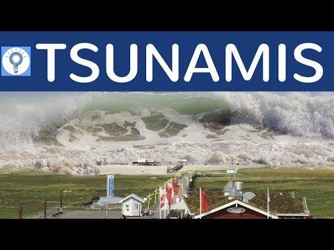 Tsunamis - Wellen, Entstehung, Eigenschaften, Merkmale & Warnung vor Tsunamis einfach erklärt