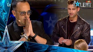 The MAGIC TRICK that has SHOCKED Risto Mejide | Auditions 6 | Spain's Got Talent 2021