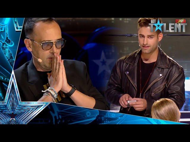 El TRUCO DE MAGIA que ha dejado a Risto SIN PALABRAS   Audiciones 6   Got Talent España 2021
