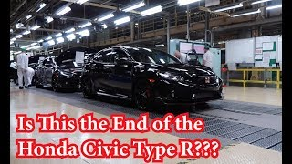 Honda Announces the Closing of The Only Factory for the Civic Type R