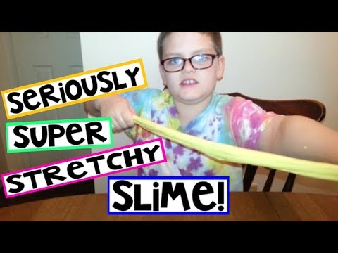 how to make your slime stretchy