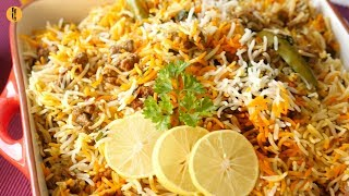 Dum Keema Biryani Recipe By Food Fusion Eid Special Recipe