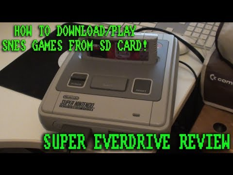 Download/Play SNES Games From SD Card - Super Everdrive Review