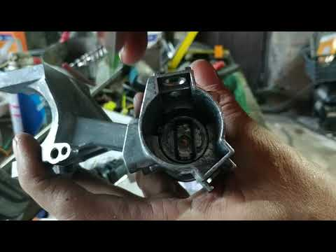 разборка замка зажигания Toyota Duet