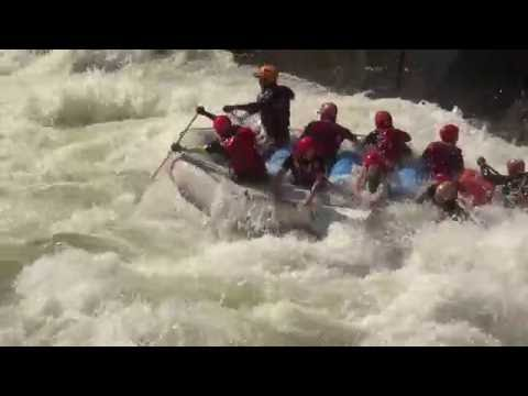 Zambezi river rafting - September,2016.