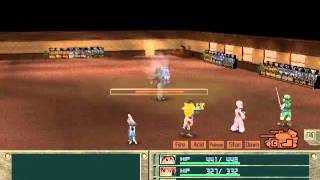Metal Saga - Puppetmaster Boss Fight