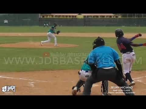 Jeury Hiciano RHP Elegible From (Jonas Baseball Academy) Vs Atlanta Braves