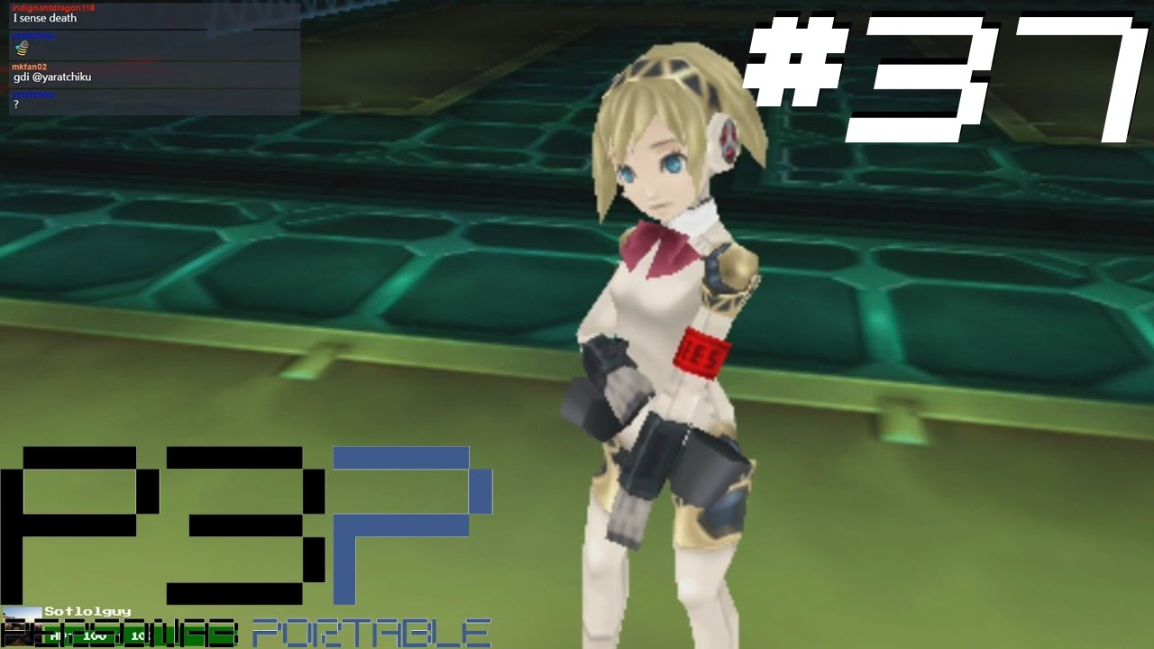 Persona 3 Portable [37] Aigis joins the fight
