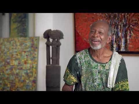 Ghanaian Artist and Professor Ablade Glover