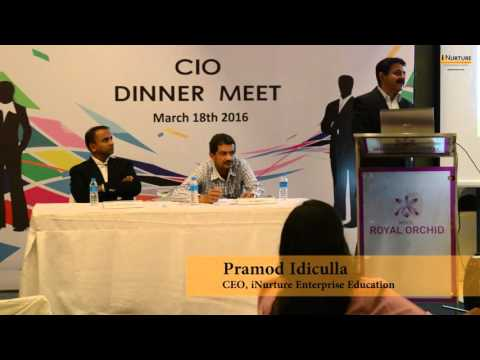 Three 'V's of Big Data - iNurture CIO Series - Bangalore 01