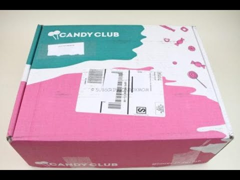 Candy Club November 2019 Candy Unboxing/Tasting + Coupon Code